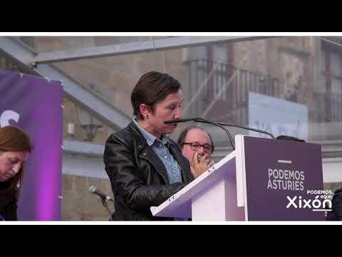 Elecciones Municipales 2019. Acto Central Gijón. Discurso Yolanda Huergo