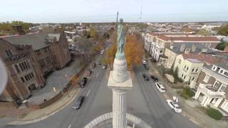Video Monuments on Monument Ave., Richmond VA download MP3, 3GP, MP4, WEBM, AVI, FLV November 2017