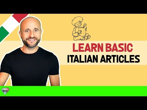 Basic Italian Articles and Grammar For Beginners: Learn Italian Online LIVE (Lesson 8)