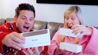 COUPLES IPHONE 7 & 7PLUS UNBOXING!