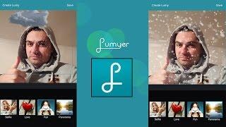 КАК сделать ЖИВЫЕ фотографии приложение Lumyer