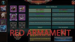 Legacy of Discord : Furious Wings - Como mejorar armamento de monturas a rojo.