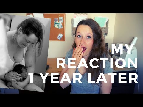 reacting-to-my-own-unassisted-natural-home-birth-video