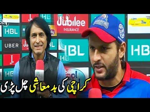 Karachi King Ki Badmashi Chal Pari - Karachai King Vs Multan Sultan | HBL PSL 2018