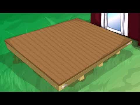 Building A Wood Deck Over Concrete Steps