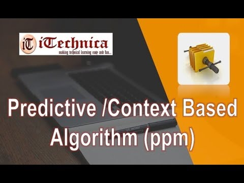 27. Predictive/Context-based Algorithm (ppm)