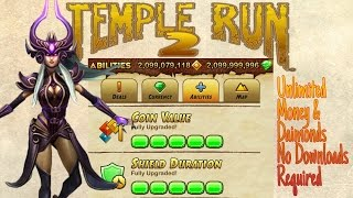 Temple Run 2 Cheats - Unlimited Everything No Downloads Needed HD