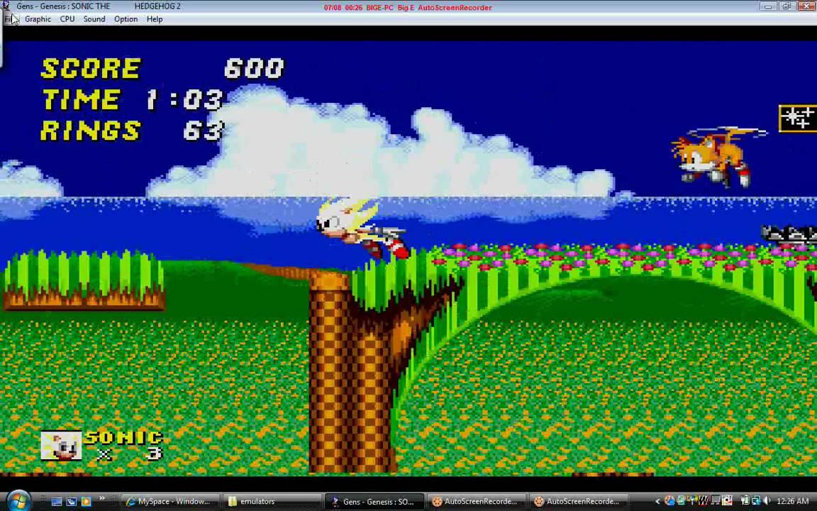 Super <b>Sonic cheat</b> for <b>Sonic 2</b> sega genesis - YouTube