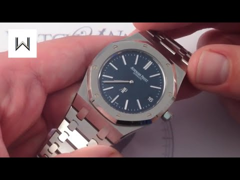 "Audemars Piguet Royal Oak 15202ST ""Jumbo"" Luxury Watch Review"