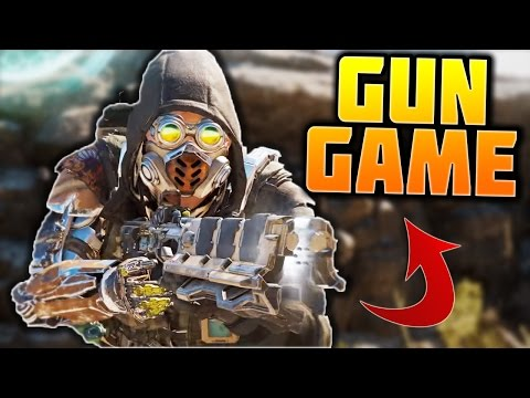 BlackJack Gun Game! (DLC WEAPONS ONLY GUN GAME) | BLACK OPS 3
