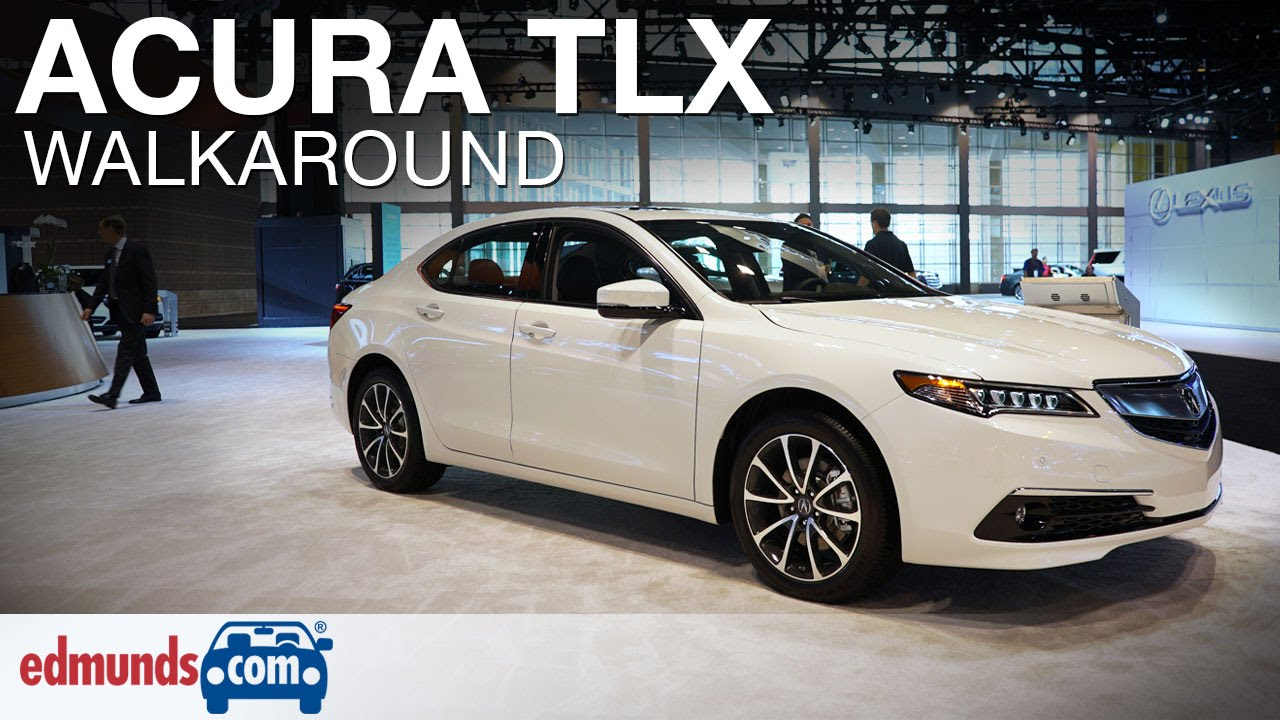 2016 Acura Tlx Walkaround Edmunds