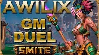 SMITE! Awilix, Bonus Track! Indignacion es lo que tengo! GM Duel #7