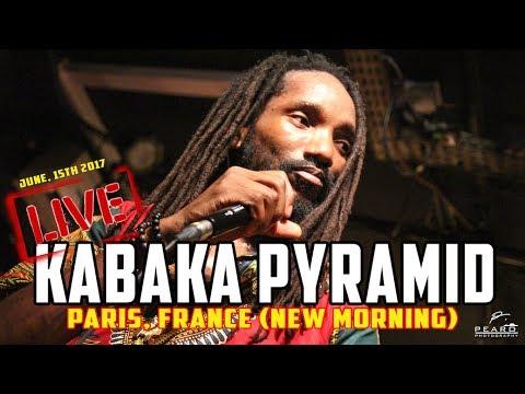 Kabaka Pyramid & The Bebble Rockers [LIVE] @ New Morning - Paris, France  (15/06/17)
