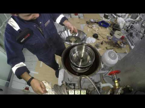 Alpha Laval Purifier 4k Overhaul