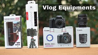 Must have Vlogging Equipments in Hindi | Best vlogging gear for beginners