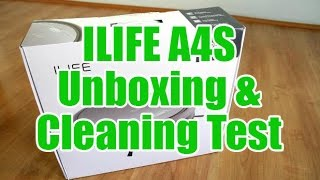 ILIFE A4S Unboxing and Cleaning Test