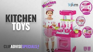 Top 10 Kitchen Toys 2018 : Jvm Luxury Battery Operated Kitchen Play Set For Kids, Multi Color
