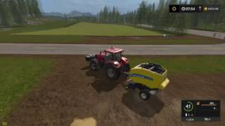 Farm Sim Saturday...LOVE BAIL WRAPPING and MEGA GRASS WINDROWS IN THE FIELD EP 05