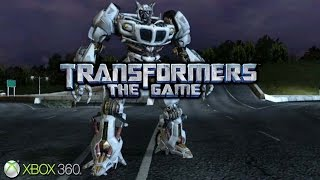 Transformers: The Game - Xbox 360 / Ps3 Gameplay (2007)