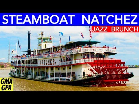 On The New Orleans Steamboat Natchez For A Sunday Jazz Brunch Cruise On The Mississippi Sternwheeler