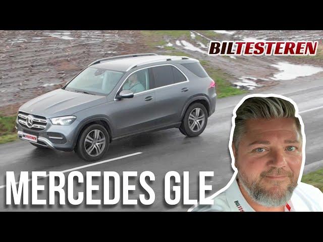 Når komforten skal være i top - Mercedes Benz GLE 350 d (test)
