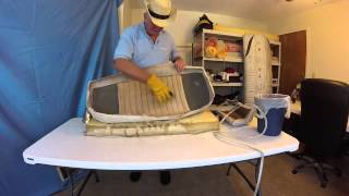 Boat Upholstery Chapter 9 Mariah Rebuild Seat And Sundeck