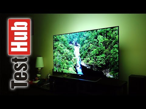Philips OLED TV 55POS9002 Ambilight Test