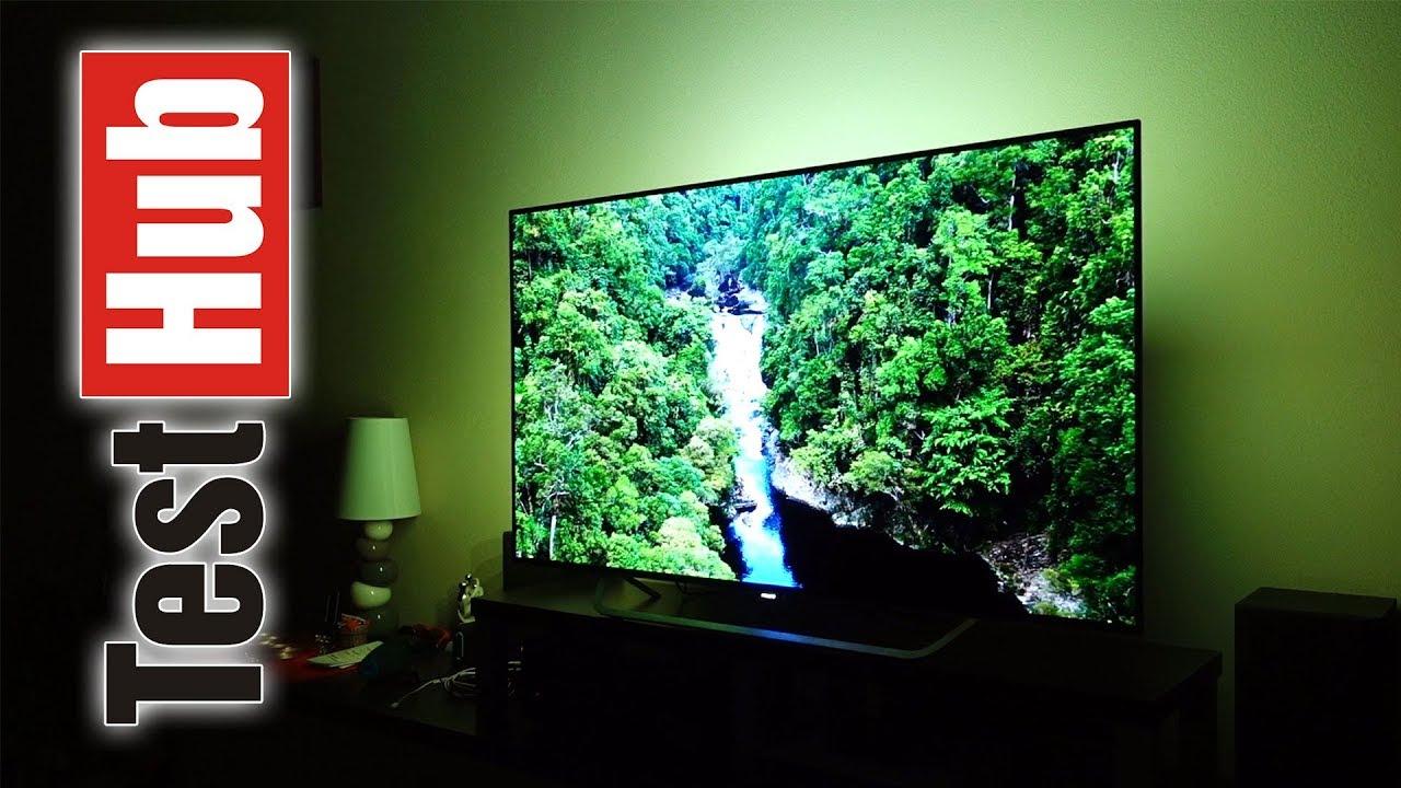 philips oled tv 55pos9002 ambilight test youtube. Black Bedroom Furniture Sets. Home Design Ideas