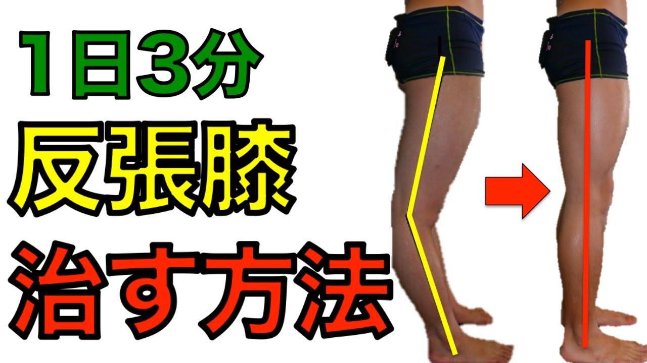 膝 改善 張 反