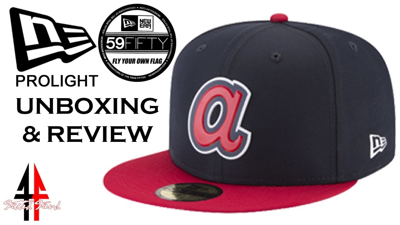 NEW ERA PROLIGHT 59FIFTY UNBOXING   REVIEW !!! FITTED FIEND EP. 3 ... fd528375932