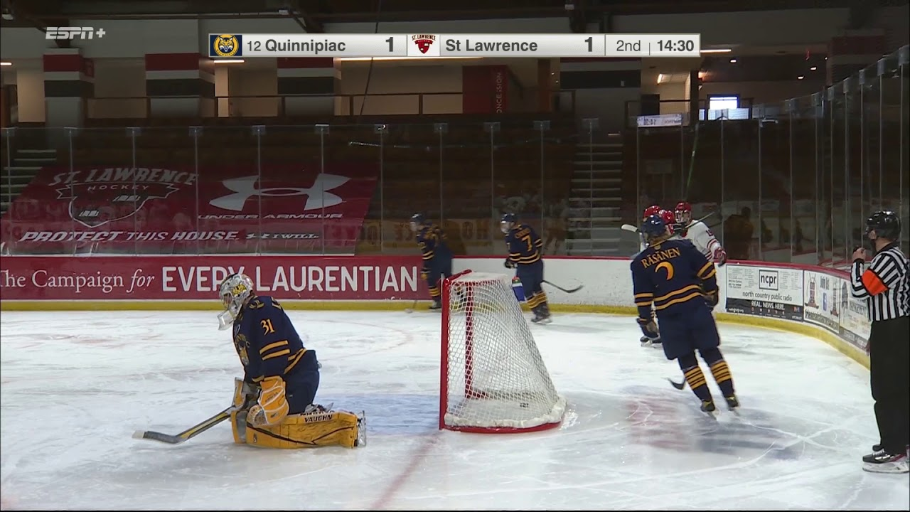 No. 11/12 Quinnipiac 4, St. Lawrence 2 (men's hockey)