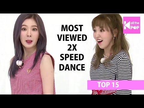 [TOP 15] Most Viewed KPop 2x Speed Dance | January 2017