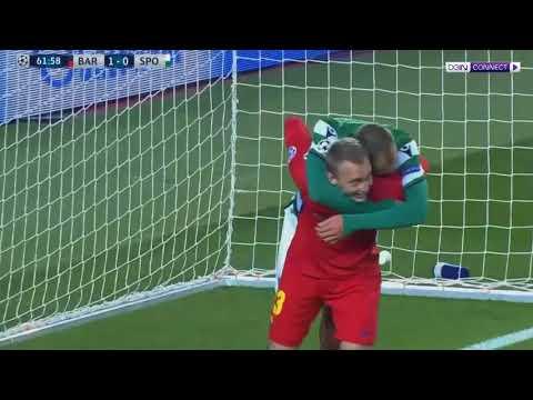 Barcelona vs Sporting Lisbon 2 0   All Goals