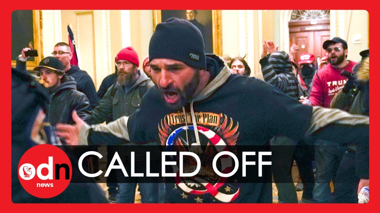 Donald Trump Tells Supporters to 'Go Home' As Chaos at US Capitol Continues