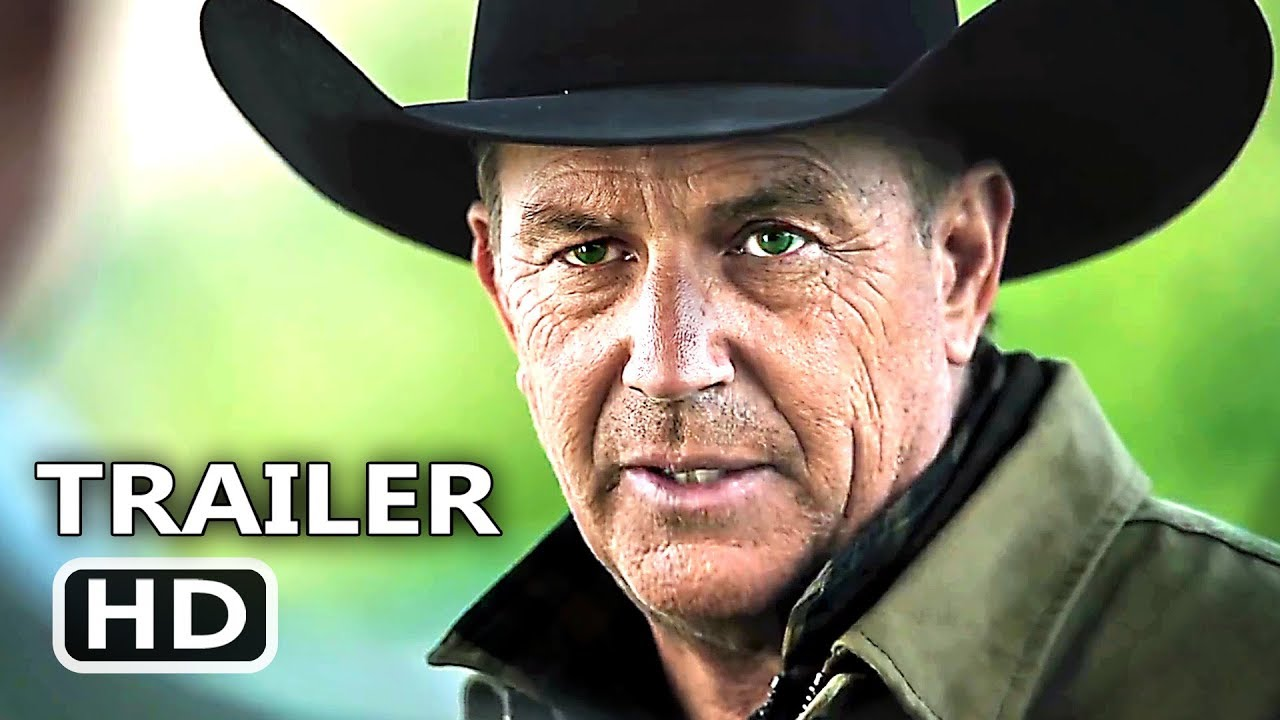 YELLOWSTONE Season 2 Official Trailer (2019) Kevin Costner, TV