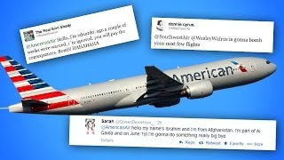 More Teens Tweet Terror Threats at Airline! OMG!