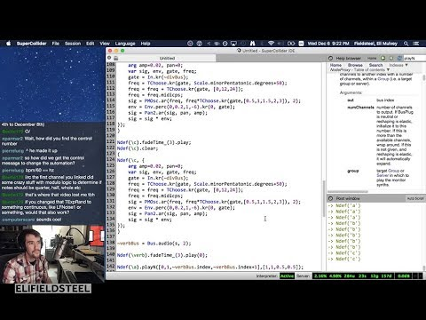 Week 14: Audio Coding with SuperCollider - Fall 2017 MUS 499C