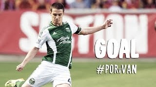 GOAL: Will Johnson volleys home an Adi layoff   Portland Timbers vs Vancouver Whitecaps