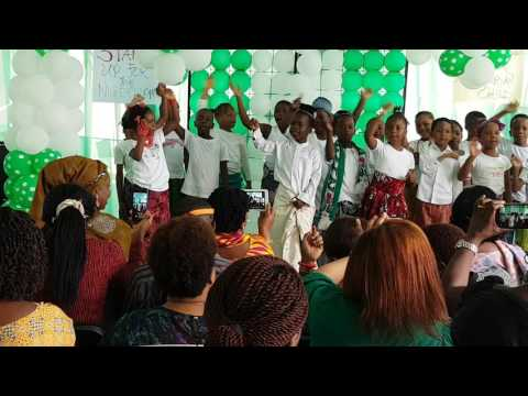 NATIONAL DAY CELEBRATION AT THE BEES KNEES SCHOOL ABUJA