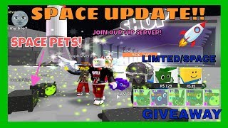 🔴New Pet Simulator Update - Giving Away Some New Limited / Space Pets - Roblox Live Stream
