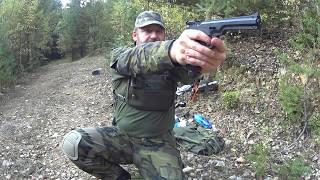 Pistole LOV 21 na CO2 nebo sifonové bombičky