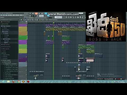 Khaidhi no.150 BGM in FL studio 12 ......