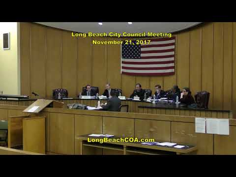 Long Beach NY City Council Meeting 11/21/17