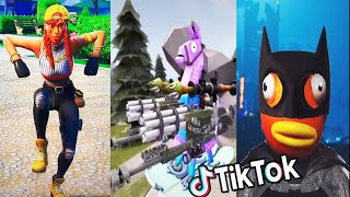 TIKTOK + FORTNITE COMPILATION ✅ #21 |  BEST FUNNY MOMENTS + FAILS +  LAUGHTER + DANCE + MEMES