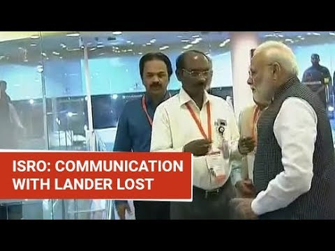 What ISRO Chief Said After Loss Of Contact With Chandrayaan