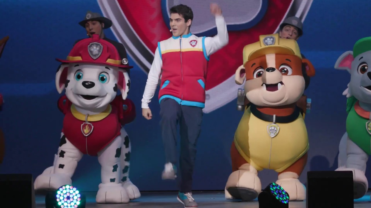 Paw Patrol Live The Great Pirate Adventure Youtube