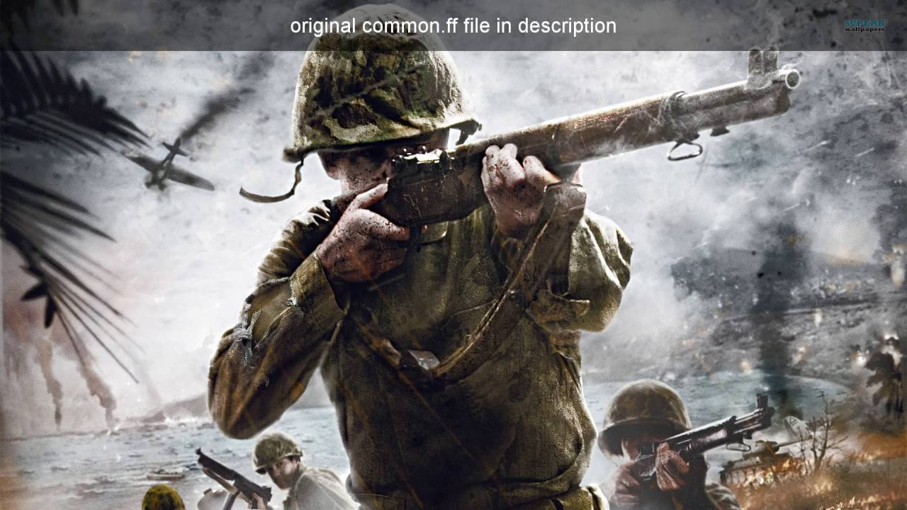 common ff (call of duty world at war) w/ download