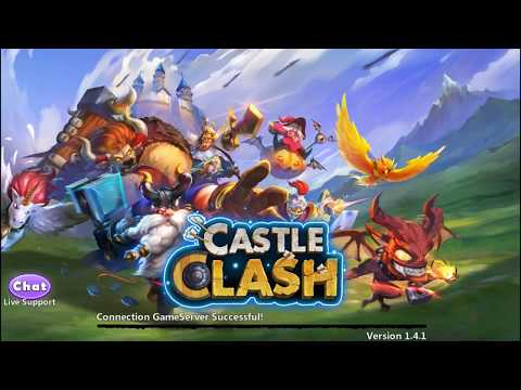 CASTLE CLASH 1.4.1 Latest Version With New Heros Gameplay