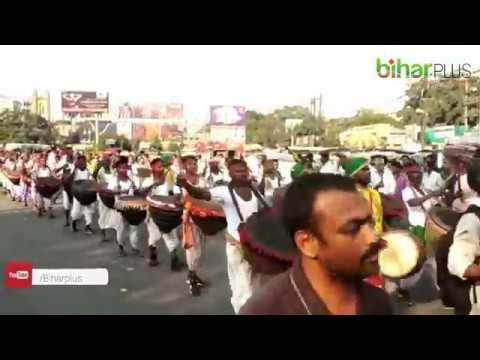 भारतीय जननाट्य संघ IPTA ने #Patna की सड़कों पर निकाला मार्च, शामिल हुए हजारों रंगकर्मी #Artist