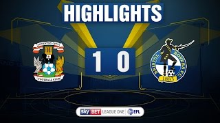 HIGHLIGHTS: Coventry City 1-0 Bristol Rovers
